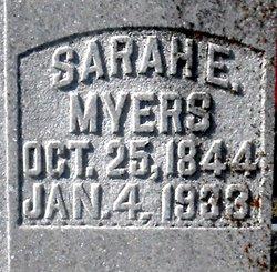 Sarah Elizabeth <i>Michael</i> Myers
