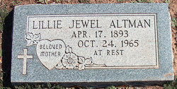 Lillian J <i>Thornton</i> Altman