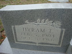 Hyram Thomas Williamson, Sr