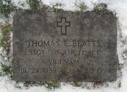 Thomas E Beatty