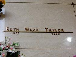 Ruth <i>Ward</i> Taylor