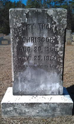 Henry Thomas Criscoe