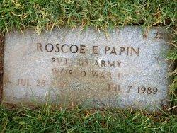 Roscoe E Papin