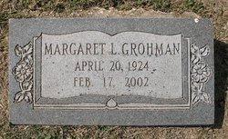 Margaret Lucille <i>Cobb</i> Grohman