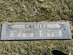 Callie Anna <i>Orchard</i> Cassidy