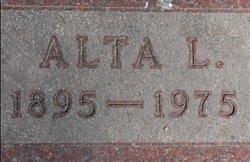 Alta L. <i>Tousley</i> Sterling