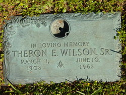Theron Ernest Wilson, Sr