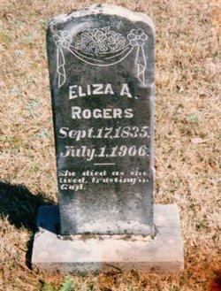 Eliza Mary Ann <i>Moore</i> Rogers