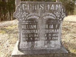Julia Frances <i>Combs</i> Chrisman