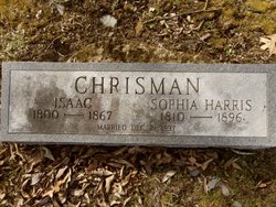 Sophia <i>Harris</i> Chrisman
