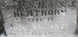 Robert Elsworth Henthorn