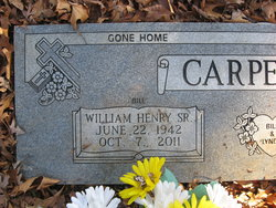 William Henry Bill Carpenter, Sr