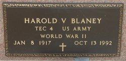 Harold Vernon Blaney