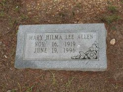 Mary Hilma <i>Lee</i> Allen