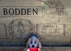 Anna Lee Annie <i>Geoghagan</i> Bodden