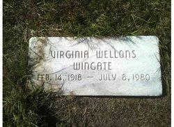 Virginia <i>Wellons</i> Wingate