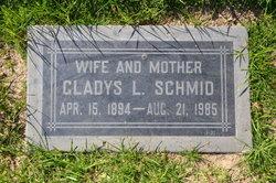 Gladys L Schmid