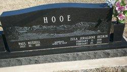 Zula Jeraldine <i>Deskin</i> Hooe