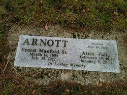 Alice Viola <i>Johnson</i> Arnott