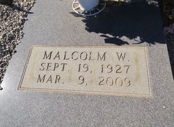 Malcolm W. Mack Sweat