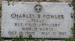 Charles Bert Chas Fowler, Sr
