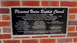 Pleasant Union Baptist Cemetery - Negro