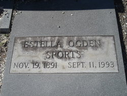 Estella <i>Ogden</i> Sports