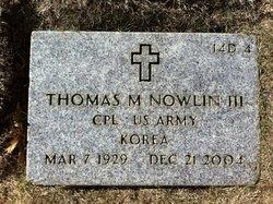 Thomas Monroe Nowlin, III