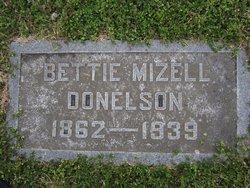 Bettie <i>Mizell</i> Donelson