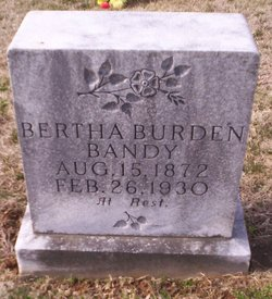 Bertha <i>Burden</i> Bandy