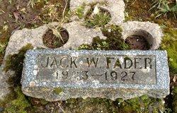 Jack Warren Fader