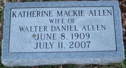 Lena Katherine <i>Mackie</i> Allen