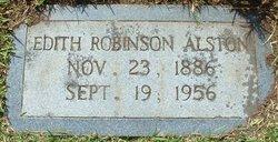 Edith <i>Robinson</i> Alston