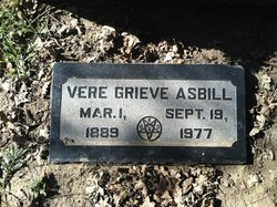 Vere Grieve Asbill