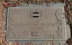 Clara <i>Conard Williams</i> Ledford