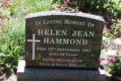 Helen Jean <i>Norgate</i> Hammond