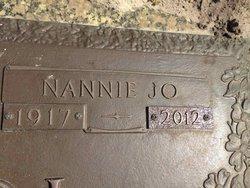 Nannie Jo <i>Evans</i> Bechdol