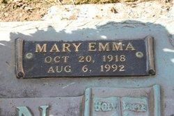 Mary Emma <i>Pritchett</i> Allen