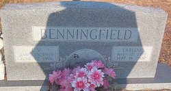 Ruby Earline <i>Faulkner</i> Benningfield