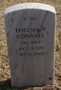 Thelma V <i>Lee</i> Connell