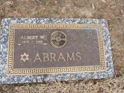 Albert W Abrams