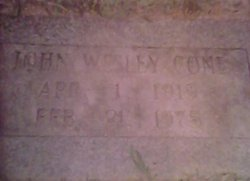 John Wesley Cone, Jr