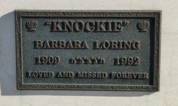 Barbara Knockie Loring