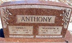 Emma L. <i>Lentz</i> Anthony