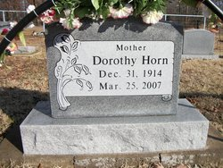 Dorothy <i>Boyd</i> Horn