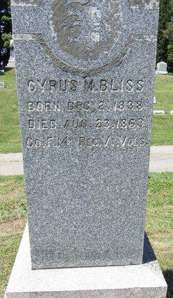 Corp Cyrus M. Bliss