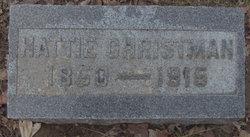 Harriet Jane <i>Ervin</i> Christman