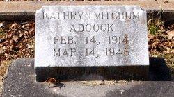 Kathryn Ophelia <i>Mitchum</i> Adcock