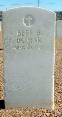Bess R. <i>Hodges</i> Bomar