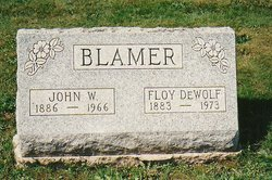 Floy <i>DeWolf</i> Blamer